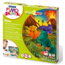 FIMO Kids - Form & Play - Dinossauros - Nível 2